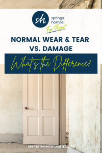 wear and tear vs damage