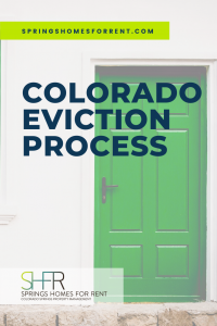 colorado eviction process