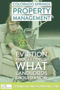 colorado eviction laws