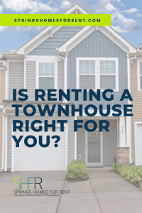 is renting a townhome right for you